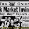 La bourse est invincible 1929